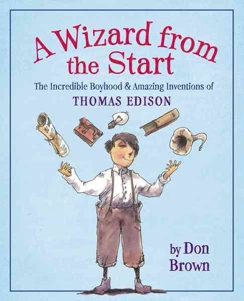 A Wizard from the Start By Brown, Don